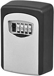 Key lock box, all'aperto impermeabile a parete nascosta cassetta di sicurezza - house key lock box