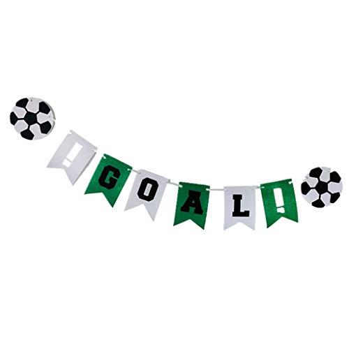 Bonarty Decoraciones de Carteles de GOL de Fútbol para Niños, Niñas, Deportes,