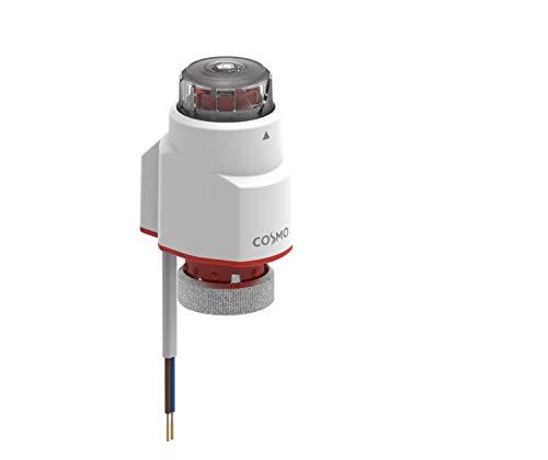 COSMO TS-Standard Stellantrieb neu IP44 M30x1,5mm, 230V, stroml. zu, mit Aufst.