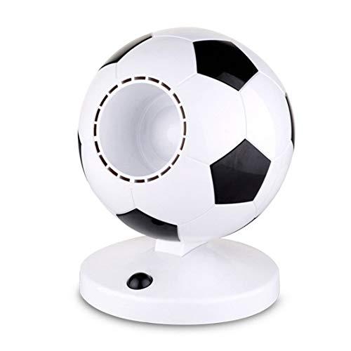 NICE' living hall Ventilador sin Cuchilla Material ABS Copa del Mundo Creativo Estilo de fútbol USB Mini Estudiante Mute Ahorro de energía Regalo Que da 16 * 21 cm
