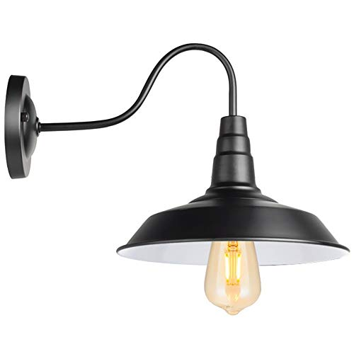 GZSC stijl nachtkastje Amerikaanse wandlamp antiek inhuis woonkamer lichten van Annata wandlamp zwart E26 indoor / outdoor