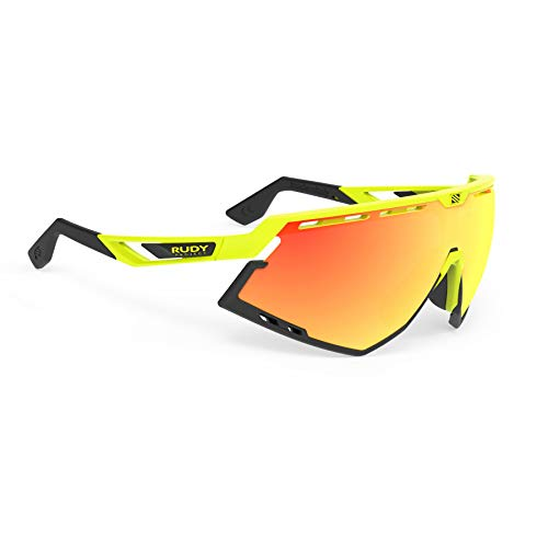 Rudy Project Defender Brille Yellow Fluo - rp Optics multilaser orange 2020 Fahrradbrille