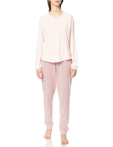 ESPRIT Bodywear Damen GLENICE NW COO Pyjama lslv_lg Pyjamaset, 693, 40