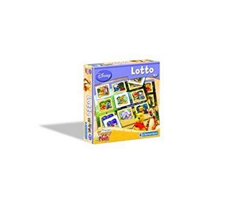Clementoni - 12543 - Jeu de Voyage - Pocket Loto - Winnie et le Tigre