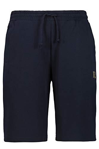 JP 1880 Herren große Größen bis 8XL, Bermuda-Shorts, Kurze Jogginghose mit elastischem Bund, Sweat-Pants mit 2 Taschen Navy L 702636 70-L