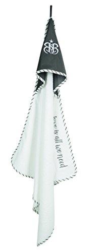 Roba Rock Star Baby 3 - Juego de Toallas de Mano (3 Piezas, Rizo, Toalla con Capucha, Toalla de 30 x 30 cm, Manoplas para baño y Cuidado