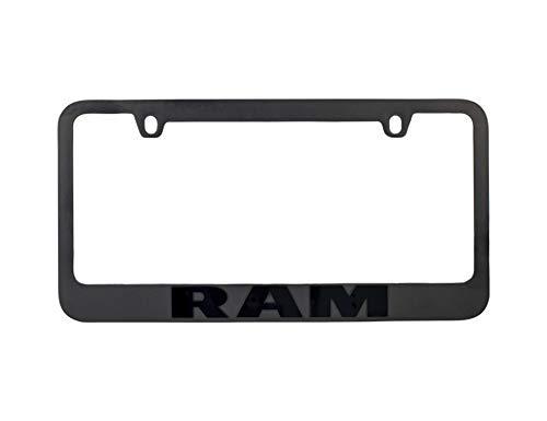 Eurosport Daytona Dodge RAM Stealth Blackout License Plate Frame