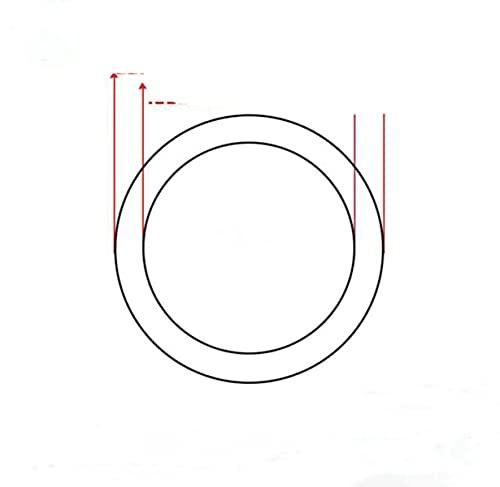 Tubo de silicona 1 metro Manguera de goma de silicona transparente de grado alimenticio Tubo de silicona flexible inodoro 7 8 9 10 11 12 13 14 16 mm OD-5x9mm
