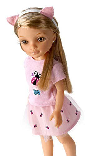 Nancy Un Día con Arantxa - Muñeca oficial de la influencer Arantxa, recomendado a partir de 3 años (Famosa 700015033)