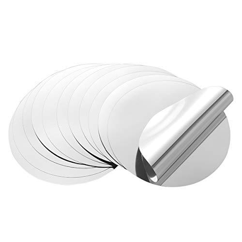 OUNONA Versatore a disco salvagoccia per bottiglie in alluminio 12PCS