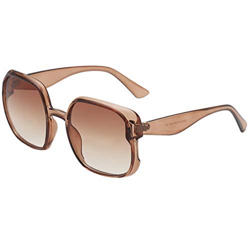 Best Bargain Meidexian888 Vintage Sunglasses Unisex Big Frame Eyewear Summer Outdoor Sport Sun Glass...