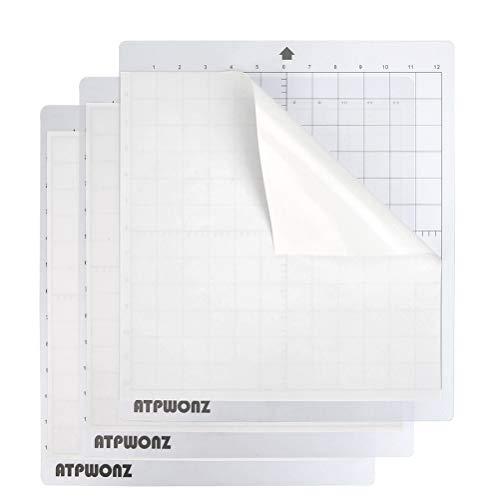 OFNMY 3 Blatt Schneidematte PVC Schneideunterlage 12''x12''(30.48x30.48cm) Cutting Mat mit Selbstschließenden Oberfläche