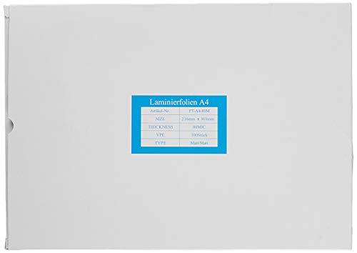 5 Star Laminiertaschen 150 Mikron für A4 matt (100 Stück)