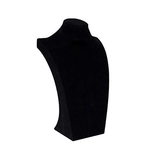 oshhni Collar Colgante Pantalla Busto Maniquí Soporte Soporte Rack - 29x17x9.5cm