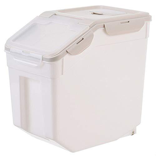 Reisbehälter, Zuhause Reisbox 10 Kg / 15 Kg / 25 Kg Hohe Kapazität Getreide Aufbewahrungsbox Insekten- Und Feuchtigkeitsbeständig für Frischkorn Trockenfutter Müslibehälter ( Color : C , Size : 25KG )