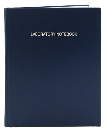 BookFactory Lab Notebook - 168 Pages (.25