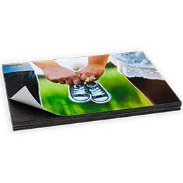 Foto Magnet gestalten! 10er Set in verschiedenen Größen | Kühlschrankmagnet | Magnetfoto | Magnetpinwand | Magnetische Bilderrahmen | Klebemagnet, Fotopapier (Visitenkarte (8,5 x 5,5 cm))