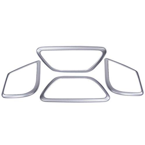 ABS mat Intérieur Porte latérale Housse pour enceinte Trim 4 pcs pour accessoire de voiture BZVT