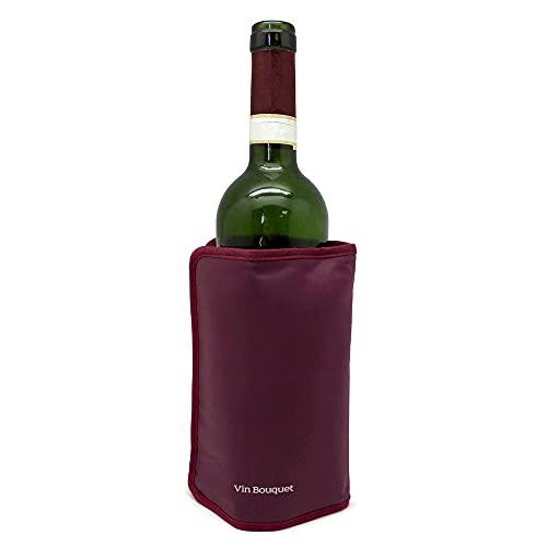 Vinbouquet FIE 003 Vin Bouquet Refroidisseur Auto-Réglage Bordeaux 18,5 x 16 x 2 cm, Stainless Steel