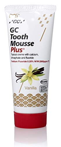 GC Tooth Mousse New Sugar Free With Fresh Vanilla