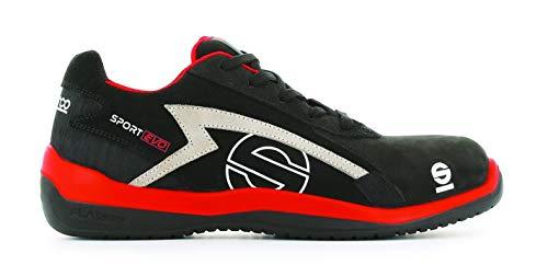 Sparco S0751643RSNR Zapatillas Sport EVO Negro Talla 43