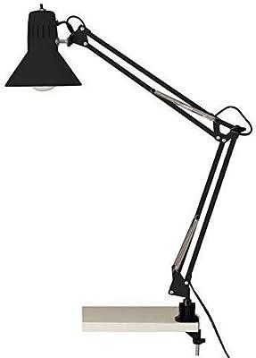 Brilliant ILB5123124 Lampe de Bureau, Métal, Noir, 0