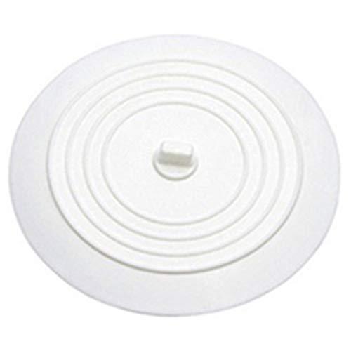 FHJZXDGHNXFGH Auslaufsicherer Wasserstopper Waschbecken Waschbecken Haarfänger Runde Silikon Flachdeckel Küchenablassschraube Universal