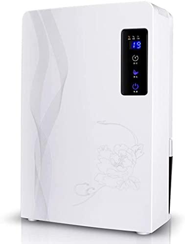 2200ml deumidificatore di sbrinamento automatico, deumidificatore ultra-silenzioso con tubo di scarico del timer per la casa, camera da letto, seminterrato, bagno, garage