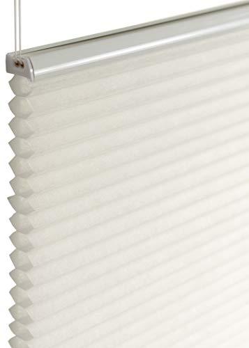 Deco4Me Wabenplissee Plissee weiß 80x220cm Blickdicht Rollo Klemmfix Jalousie Fenster