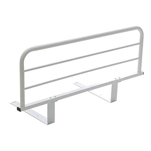 Protector lateral de seguridad de riel de cama plegable for adultos mayores, adultos Asistente for discapacitados Barandilla de cama Hospital Barra de parachoques de metal Barra de parachoques Disposi