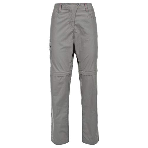 Trespass Rambler Convertible TRS TP75 Pantalón, Mujer, Gris (STG), M