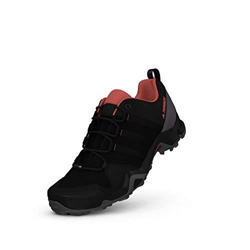 Adidas Terrex Ax2r W, Chaussures de Randonnée Femme, Noir (Negbas/Negbas/Rostac), 37 1/3 EU
