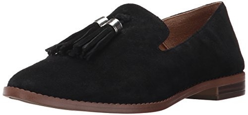 Franco Sarto womens Hadden Loafer Flat, black, 5 M US