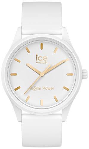 Ice Solar Reloj para Mujer Analógico de Cuarzo con Brazalete de Plástico IC018474