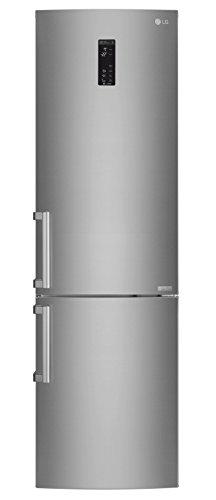 LG Electronics GBB 60 SAYXE Kühl-Gefrier-Kombination (Gefrierteil unten) / A+++ / 201 cm / 161 kWh/Jahr / 250 L Kühlteil / 93 L Gefrierteil/Inverter Linear Kompressor/No Frost/saffiano