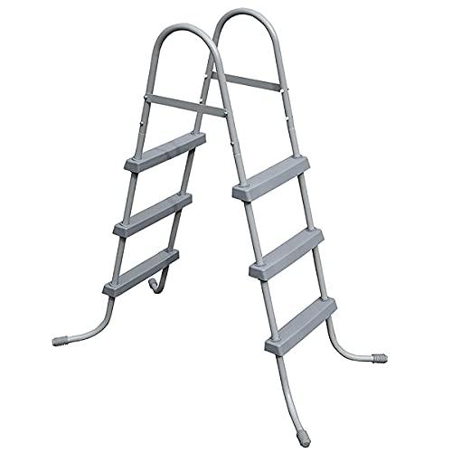 EIU Escaleras de piscina Escaleras para niños Escaleras mecánicas de doble cara para adultos Escaleras Escaleras Aplicar a la Piscina del Patio de la Piscina (Tamaño: 91cm)