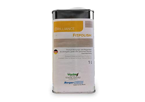 Berger-Seidle Fitpolish L92, Parkettpflege polish, farblos, lösemittelhaltig, Pflegemittel für geöltes, gewachstes, versiegeltes Parkett