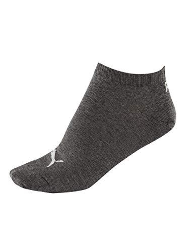 Puma Men PUMA UNISEX SNEAKER PLAIN 3P Sneaker Plain Sock - Anthraci/Light Grey Melange/Middle Grey Melange, 9-11