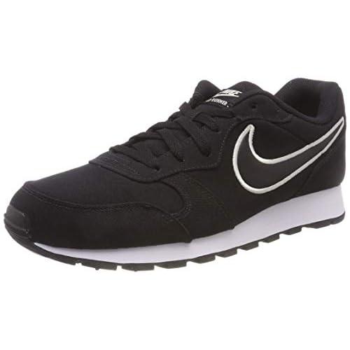 Nike MD Runner 2 Se, Scarpe da Ginnastica Basse Uomo, Multicolore (Ao5377 001 Negro), 41 EU