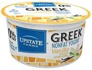 Upstate Farms Greek Vanilla Nonfat Blend Yogurt, 4 Ounce -- 24 per case.
