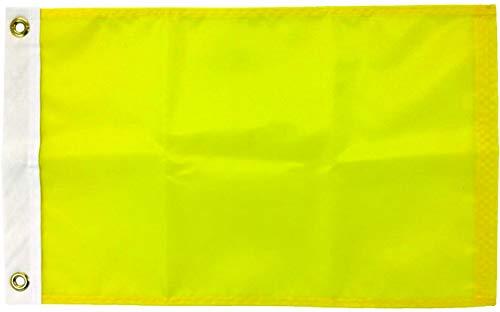 Quarantine Flag - 12' x 18' Nautical Message Flag - Made in USA