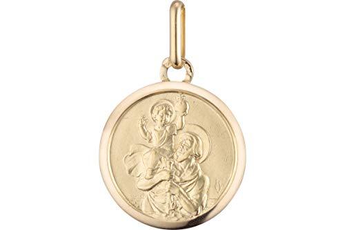 Ascendance Médaille Saint Christophe Ascendance en or jaune