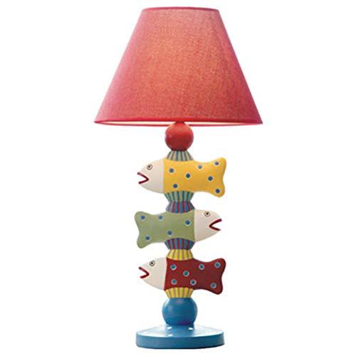 CHAGANA Tischlampe Fisch Kinderzimmer Dimmbar LED Nachtlicht Kreative Dekoration Nachttischlampe Geschenk Schlafzimmer Warm