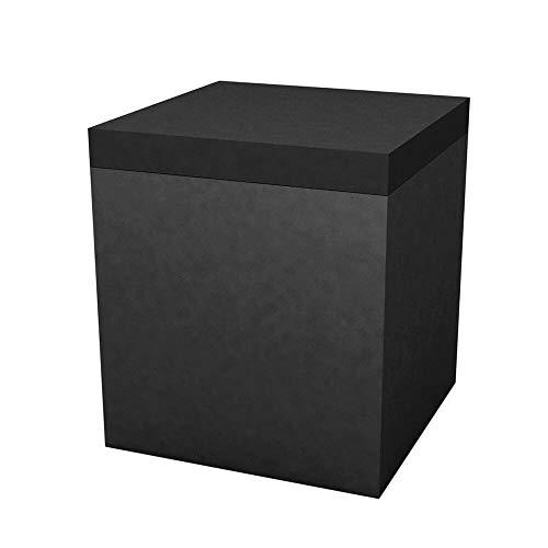 Vondom Quadrat Pouf pour l'extérieur 40x40 h.45 cm Noir