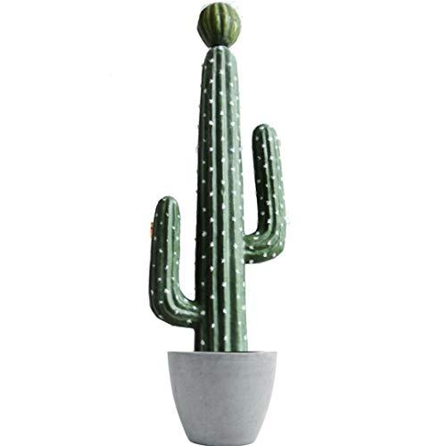 Cactus Artificiales Decoracion - Planta Artificial Decorativa - Plantas Artificiales Decorativas Tropicales- Arboles Artificiales para decoración - Adornos para Salon Modernos