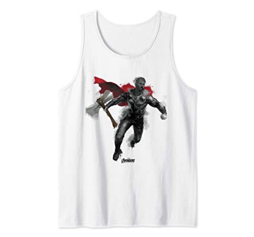 Marvel Avengers Endgame Thor Spray Paint Tank Top