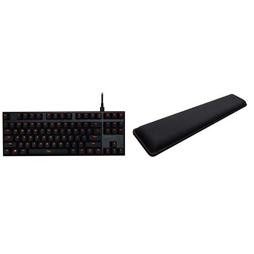HyperX Alloy FPS Pro - Cherry MX Red and HyperX Wrist Rest - Cooling Gel