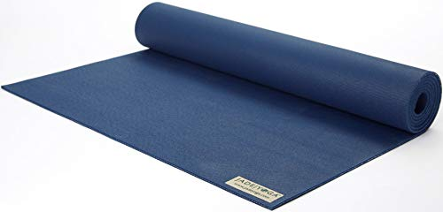 "Jade Travel Yoga Mat 1/8"" x 68\"" (3mm x 61cm x 173cm) - Midnight Blue"