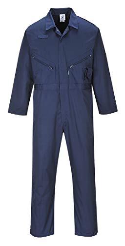 Liverpool Blaumann/Arbeits-Overall - Reißverschluss - Handytasche - Berufsbekleidung In Den Größen S-5XL - C813 - XXL, marineblau