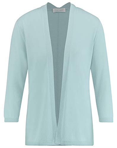 Gerry Weber Damen Strickjacke In Longform Leger Aqua 46